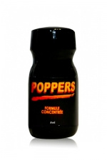 Petit Poppers Sexline 8 ml - Mini flacon 8 ml de poppers Sexline à l'isopropyle nitrite pour un bon effet : format voyage, cet arôme de faible puissance se glisse partout, ces effets sont rapides, vous aurez très envie de faire l'amour et vous vous sentirez détendu.
