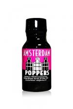 Poppers Amsterdam Juice 13 ml - Ar�me liquide aphrodisiaque puissant, � base de Nitrite d'isopropyle en flacon de 13 ml.