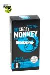 12 Préservatifs Perlés et Nervurés Crazy Monkey Fun & Friction - Avec leurs nervures et leurs picots ces 12 préservatifs 18 x 5,2 cm en latex augmentent l'excitation pendant la sodomie. Ces capotes Crazy Monkey Fun & Friction excitent les zones érogènes. Fabriquées en Allemagne.