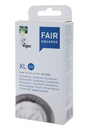 8 Préservatifs Vegan 6 cm Diamètre Fair Squared