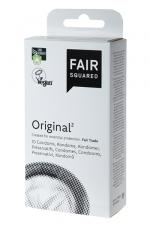 10 préservatifs Fair Squared Original