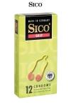 12 Préservatifs avec Cockring Sico Grip - 12 préservatifs serrés à la base avec un cockring de 18 x 5,2 cm pour une érection plus dure et prolongée. Fabriqués en latex transparent pour des sensations excitantes lors de la sodomie. Capotes haut de gamme fabriquées en Allemagne par Sico.