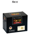 50 Préservatifs Non Lubrifiés Sico Dry - 50 préservatifs non lubrifiés de 18 x 5,2 cm pour les passifs qui aiment le sexe naturel, sans gel. Capotes haut de gamme à petit prix, fabriquées en Allemagne par Sico, gage de haute qualité et de sérieux.