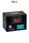 50 Préservatifs Revêtement Anti-Sperme Sico Spermicide