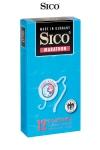 12 Préservatifs Retardants Sico Marathon - 12 préservatifs retardants de 18 x 5,2 cm, enduits de benzocaine à 5%. Retardez le moment ou vous éjaculez, devenez un étalon endurant et prenez plus de plaisir. Fabrication allemande par Sico, ces capotes retardantes ont une qualité haut de gamme.