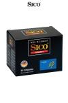 50 Préservatifs Perlés Sico Pearl - 50 préservatifs perlés de 18 x 5,2 cm en latex naturel. Les perles stimulent les zones érogènes de l'anus du passif pour décupler son plaisir à chaque mouvement de l'actif ! Imaginez le résultat ! Fabriqué par Sico en Allemagne