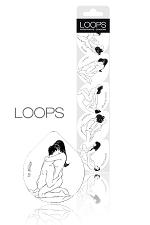 5 Préservatifs Kama Sutra Loops - 5 préservatifs en latex fin et lubrifié avec réservoir aux normes européennes avec chacun sa position du kamasutra. 5 préservatifs Loops dans un emballage solide, source de positions XXX !