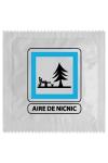 Préservatif Marrant Aire De Nic Nic - Préservatif  Aire De Nic Nic  le message est clair et net mais très drôle avec cette capote fabriquée en France par Callvin. Son emballage humoristique suscite les sourires et les envies !