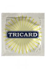 Capote Humour Tricard - Vous êtes tricard ou tricard ? Avec cette capote humour Tricard, faites l'amour avec le sourire et en toute sécurité. Largeur de la capote : 5,3 +-0,2 cm, conforme aux normes de sécurité en vigueur et fabriquée en France.