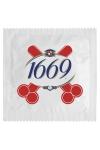 Préservatif 1669 Français - 1669, 4 chiffres qui donnent envie de sexe ! Ce préservatif sympa est fabriqué en France par Callvin dans un latex de caoutchouc naturel. Il répond aux normes françaises ISO 4074 et européennes.