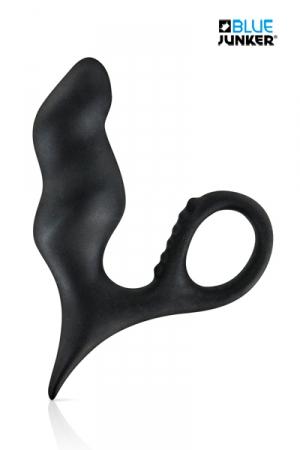 Stimulateur pour Prostate Blue Junker J1 - Vous voulez essayer la stimulation prostatique ? Le stimulateur pour prostate Blue Junker J1 est un petit sextoy pas cher mais efficace qui excite votre anus et votre prostate. Il est fabriqué en silicone et pénètre en vous de 8 cm.