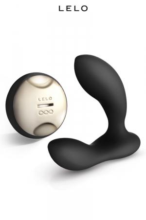 Masseur Prostatique Gay Télécommandé Lelo Hugo - Masseur gay prostate et périnée télécommandé : orgasmes 33% plus puissants. Sur ce sextoy haut de gamme Lelo Hugo, Un moteur stimule la prostate, un moteur excite le périnée. Télécommande portée de 12 mètres.